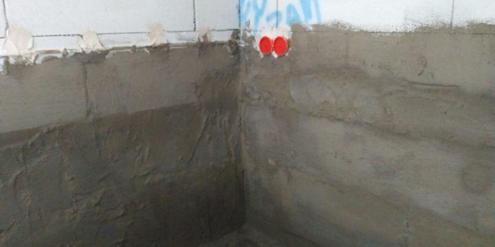 Hydroizolacja w spiżarce